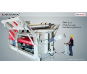 AHK 3 Valsli Hidrolik Silindir Makineleri