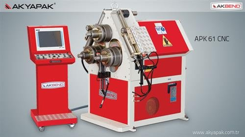 APK 61 Profil Bükme Makinesi