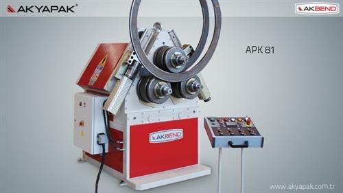 APK 81 Profil Bükme Makinesi