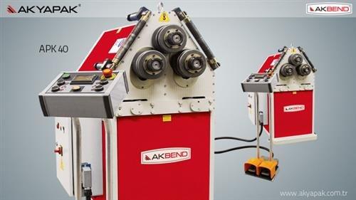 APK 40 Profil Bükme Makinesi
